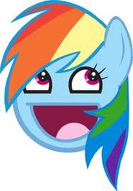इंद्रधनुष awesome face