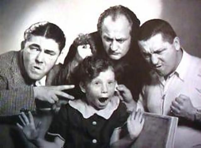 the three stooges & joan howard maurer