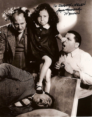 the three stooges & joan howard maurer