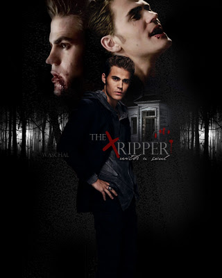 televisión fondo de pantalla possibly containing a portrait called the vampire diaries characters