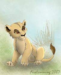 zira - the-lion-king-cubs Fan Art