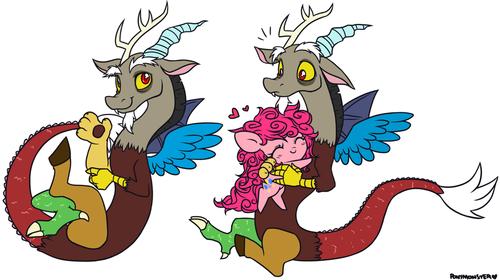 ~Pinkie Pie x Discord~