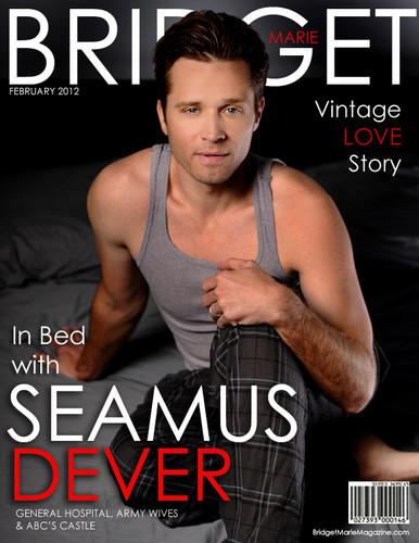 ★ Seamus in Bridget Marie Magazine ★