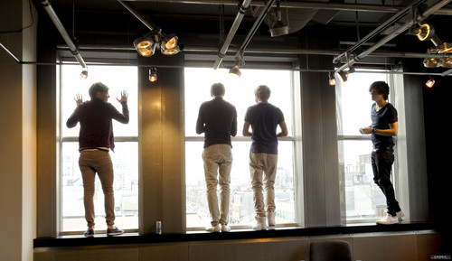 1D at the New. Music. Live studios in Toronto {27/02/12} ♥