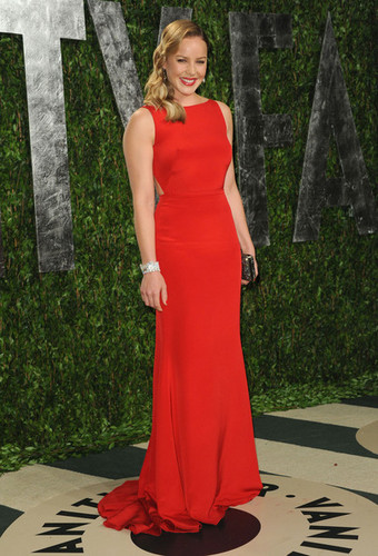 Abbie Cornish at the Vanity Fair Oscar party 2012