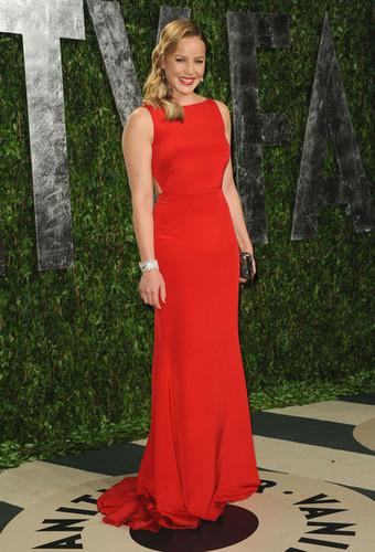 Abbie Cornish at the Vanity Fair Oscar party 2012