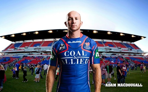 Adam Macdougall Newcastle Knights