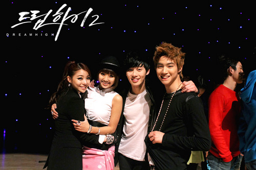 Ailee @ Dream High 2 Bangtan Boys