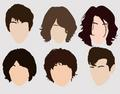 Alex Turner's hair evolution - arctic-monkeys fan art