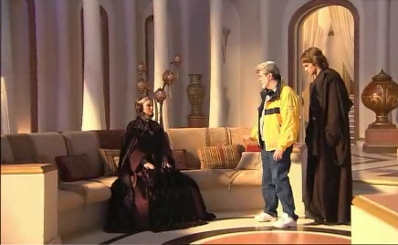 Anakin and Padme 壁纸 containing a living room and a drawing room called Anakin and Padme