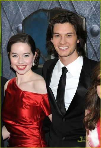 Anna Popplewell and Ben Barnes