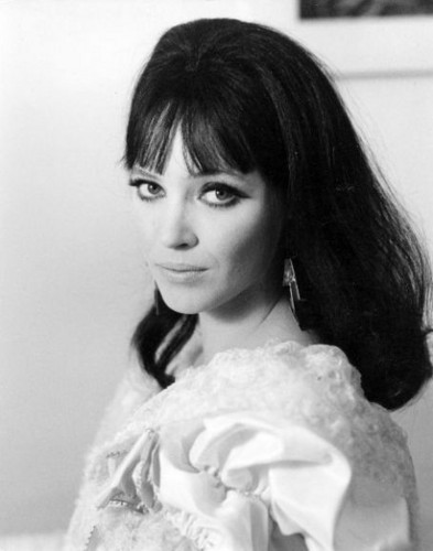 Anna Karina wallpaper possibly containing a mantilla and a mantelet called Anna