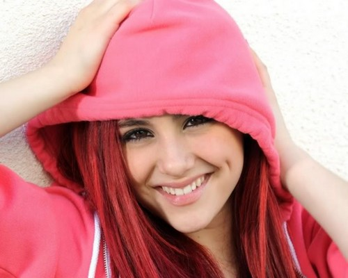 Ariana Grande wallpaper possibly with a sweatshirt and a hood called Ariana Grande <3333