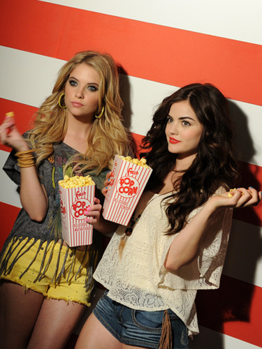 "Ashley Benson and Lucy Hale for ""Bongo"""