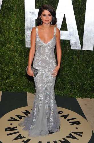 At Vanity Fair Oscar Party