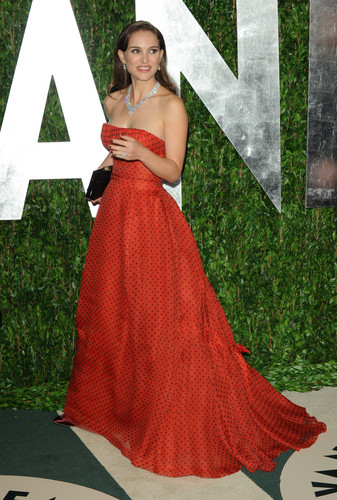 Attending the 2012 Vanity Fair Oscar Party at Sunset Tower in West Hollywood (February 26th 2012)