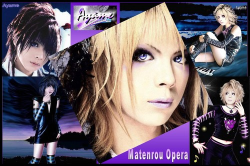 Jrock wallpaper probably containing a portrait entitled Ayame dream