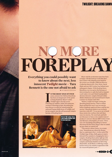 Breaking Dawn The Movie wallpaper possibly with animê titled BD Part 1 SFX magazine scans