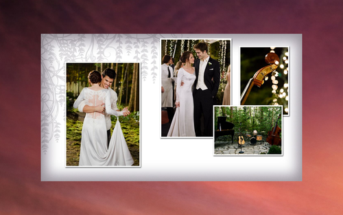 Breaking Dawn The Movie wallpaper possibly with a bridesmaid, a dinner dress, and a gown entitled BD Part 1