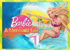 búp bê barbie In A Mermaid Tale
