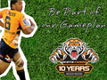 Benji Marchal Wes Tigers - nrl wallpaper
