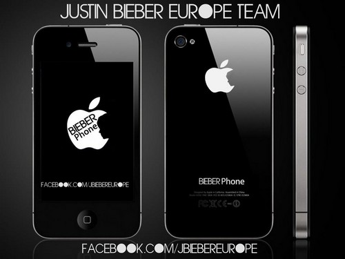 Justin Bieber wallpaper titled BieberPhone