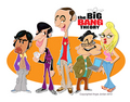 Big Bang caricaturas