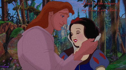 Black Is The Colour- Adam and Snow White