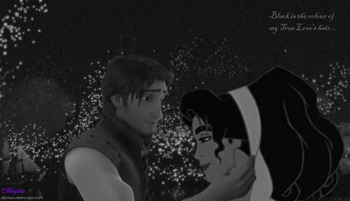 Black Is The Colour- Flynn and Esmeralda