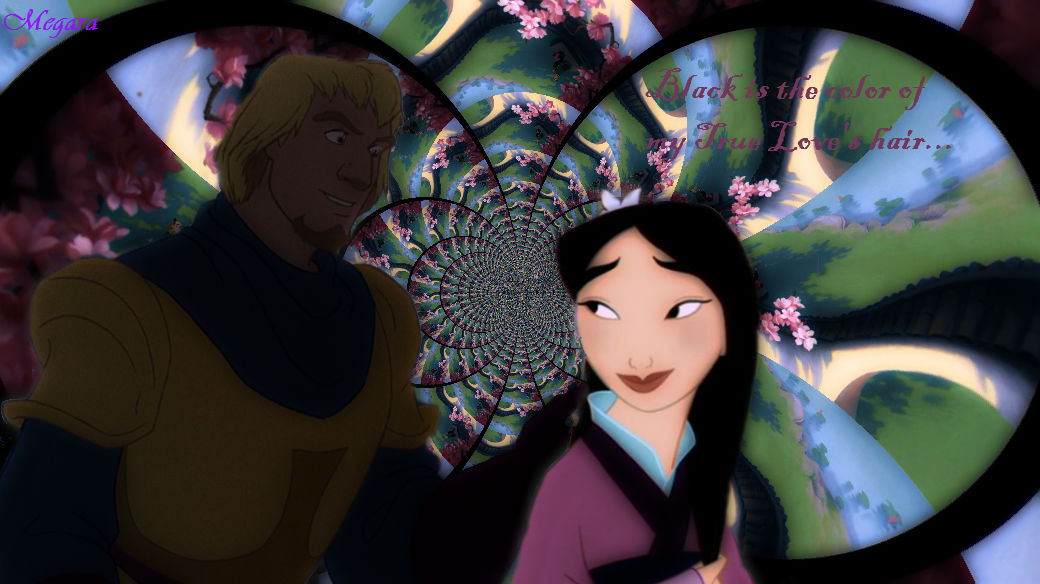 Black Is The Colour- Phoebus and Mulan