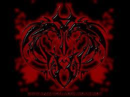 Black dragon wallaper