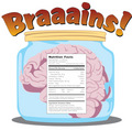 Braaains: Nutrition Facts