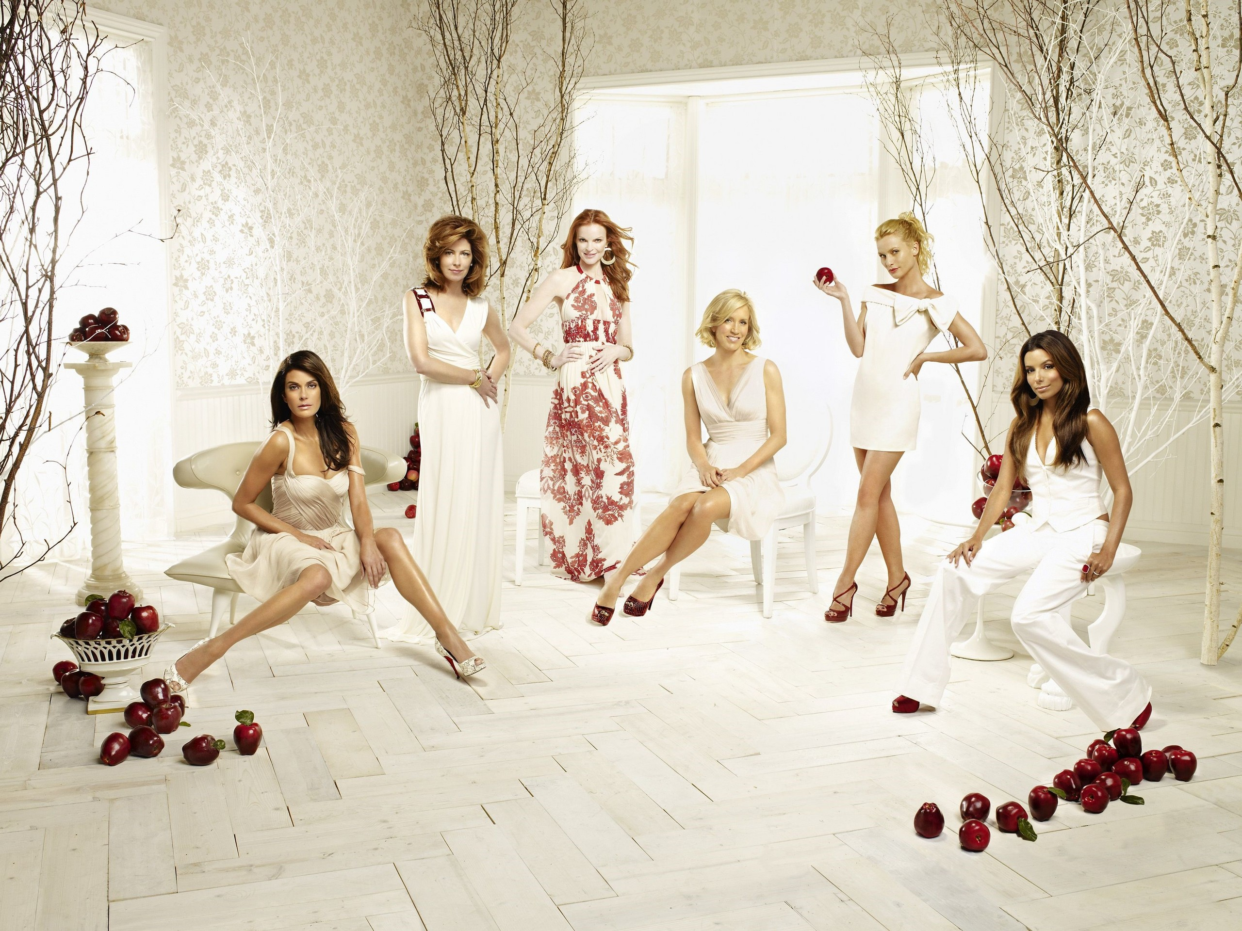 Desperate Housewives Cast Desperatehousewives