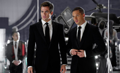 Chris Pine Tom Hardy - This Means War