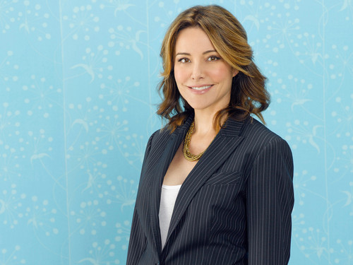 Christa Miller wallpaper with a well dressed person and a business suit called Christa Miller