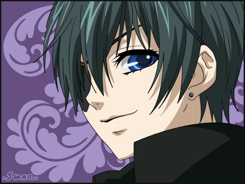 Kuroshitsuji (Black Butler) wallpaper with anime entitled Ciel Phantomhive