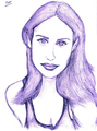 Claire Forlani By Prashan