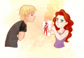 Clary and Sebastian/Jonathan - mortal-instruments fan art