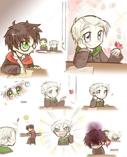 Cute! (Drarry) - harry-and-draco Fan Art