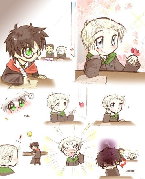 Cute! (Drarry)