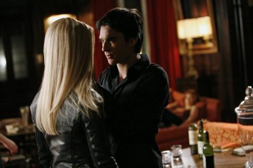 Damon and Rebekah 3x17