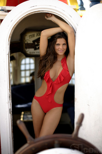 swimsuit si wallpaper probably containing a leotard and a maillot called Daniella Sarahyba
