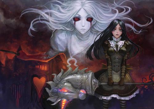 Alice in wonderland anime dark