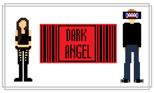 Dark Angel Pixel art