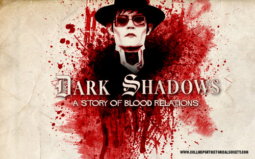 Tim Burton's Dark Shadows wallpaper titled Dark Shadows