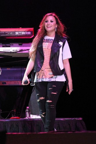 Demi Lovato Florida Rocker!