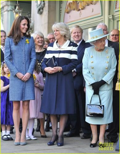 Duchess Kate: Fortnum & Mason Store Visit with Camilla!
