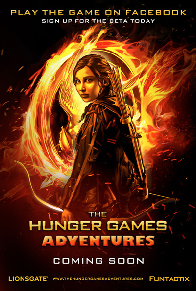 Exclusive Look at 'The Hunger Games Adventures' Poster