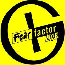 Fear Factor live logo