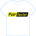 Fear Factor white t-shirt